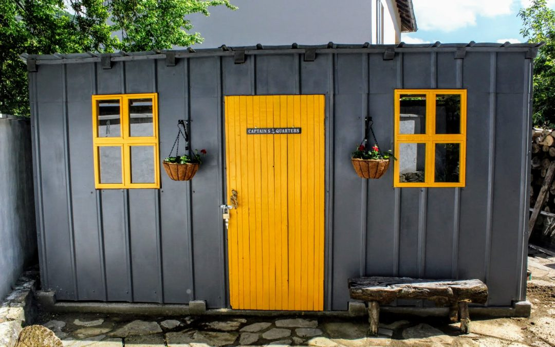 We built a (very twee) garden shed